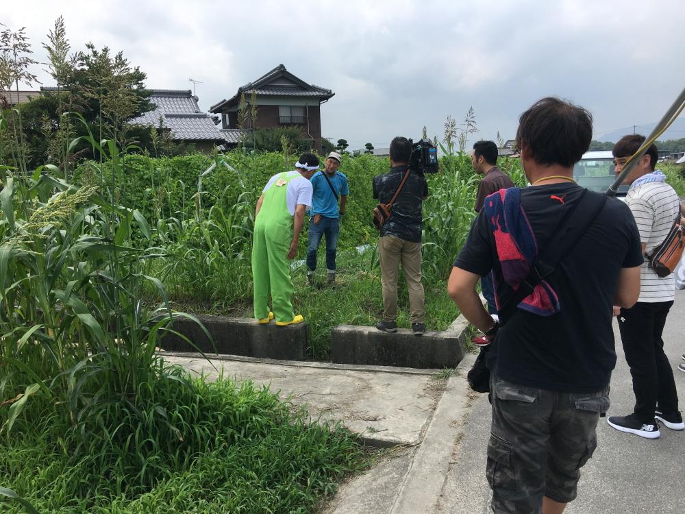 関西テレビ「よーいドン」の取材3
